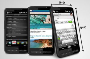 HTC HD2 Smartphone has received the latest Android 4