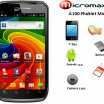 Micromax Launches A100 Phablet–All New Competitor To Galaxy Note N7000