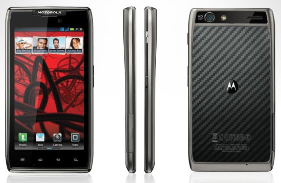 Motorola Razr Android 4.0 ICS OTA Update in Europe