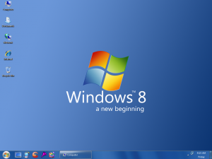 Time to unveil a new window-WINDOWS 8