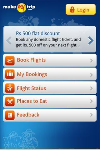 Makemytrip android app