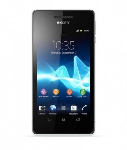 Sony Xperia V-Connecting To New World