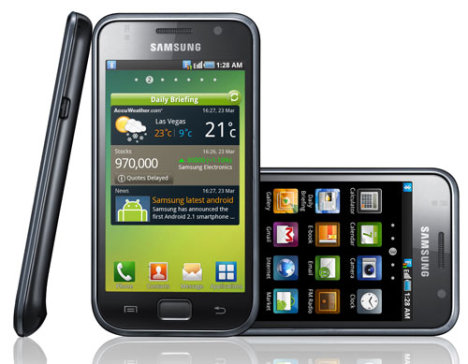 Android 2.3 Samsung Galaxy S