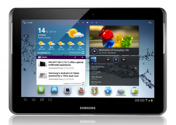 Galaxy Tablet 10.1 Ice Cream Sandwich