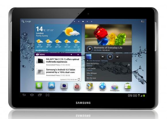 Galaxy Tablet 10.1 Ice Cream Sandwich