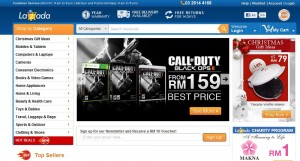 Online Shopping in Malaysia with Lazada