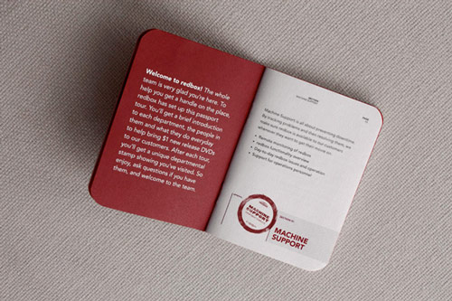 The Passport Brochure Design