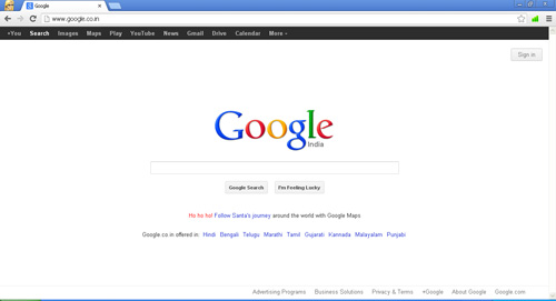 Google Chrome - Fastest Web Browser