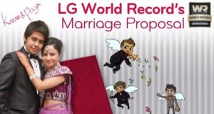 Flash Mob Proposal World Record By LG WR Team