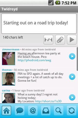 Twidroyd App