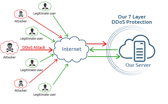 Anti DDoS Protection