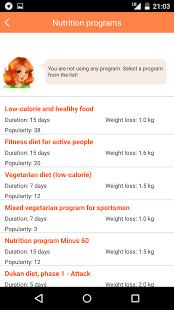 Nutrion app