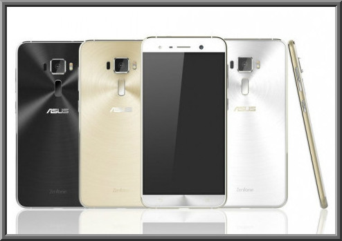ASUS Zenfone 3 Series Smartphone with 12 MP Primary Camera