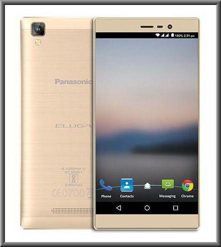 Panasonic Eluga A2 Features, Specs and Price in India