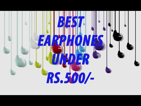 Top 5 Best Head Phones Under Rs 500