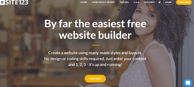 SITE123 Review: Create your website with SITE123