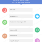 HTC phone with SD 835, QuadHD display appeared on AnTuTu, could be HTC U