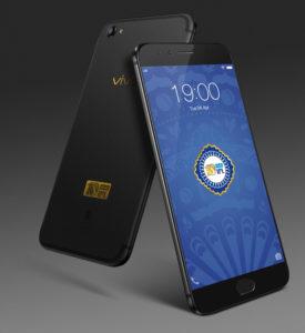 Vivo V5 Plus in Matte black color