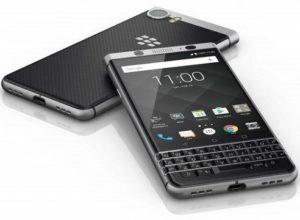 Blackberry-Keyone with 4 row keyboard