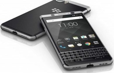 Blackberry-Keyone with 4 row keyboard