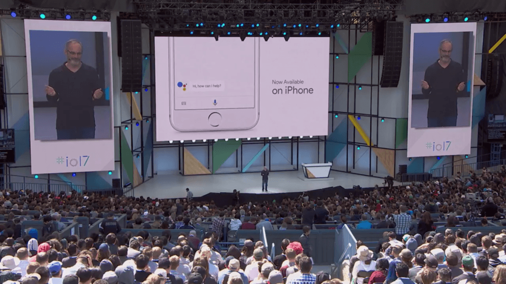 """""""Ok Google"""" comes to iOS"""