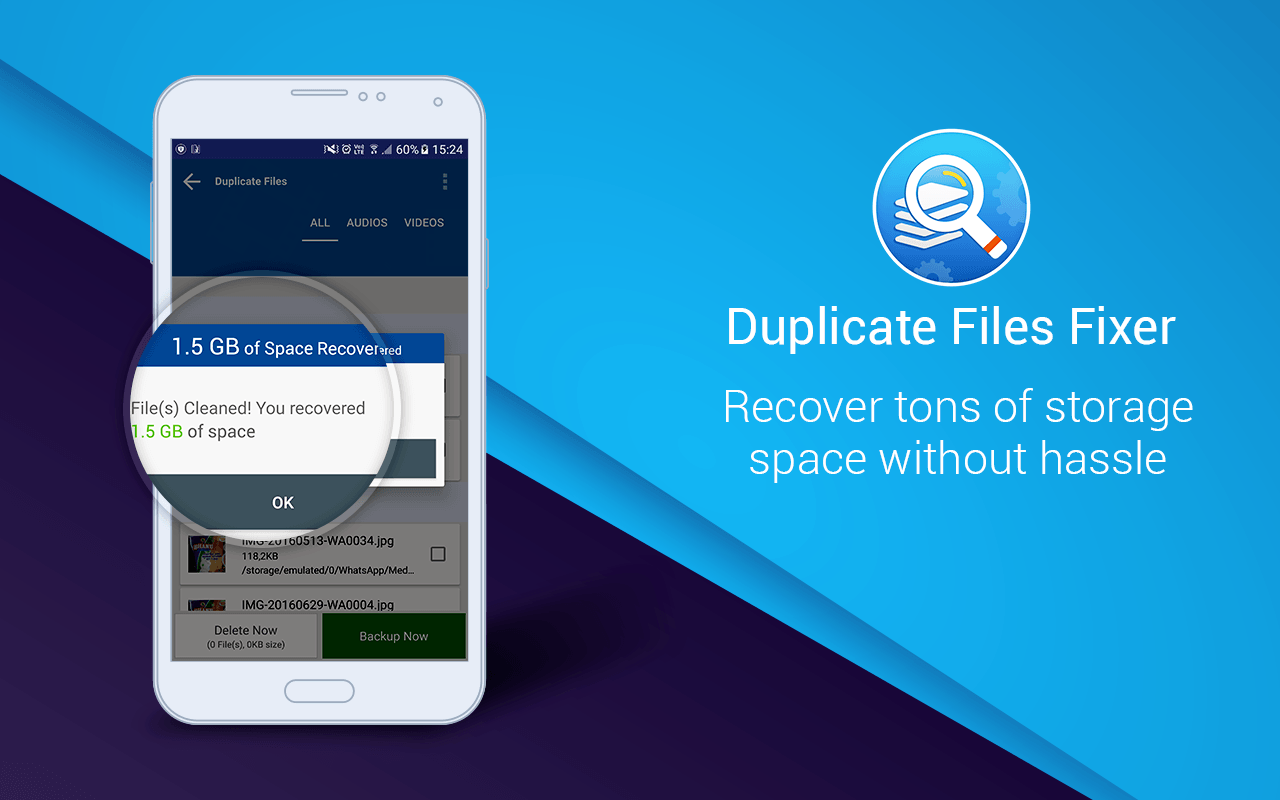 Duplicate Files Fixer-Duplicate file finder-remover App