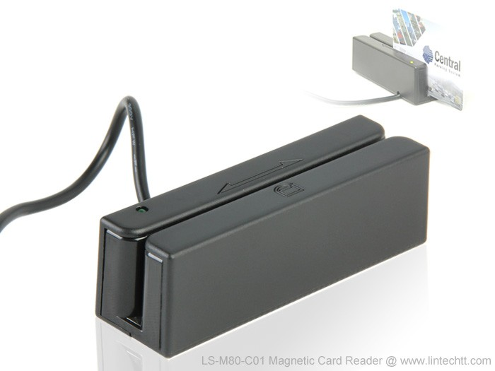 Features & Benefits of RS232 Magnetic Card Reader