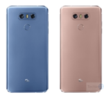 LG G6 available in two new colors – Aurora Blue and Velvet Gold
