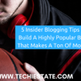insider blogging tips