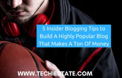 insider blogging tips