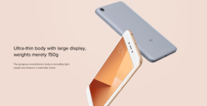 Xiaomi Redmi Y1 Lite Specifications Features and Price