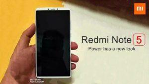 Redmi Note 5-Specs,Features,Price in India