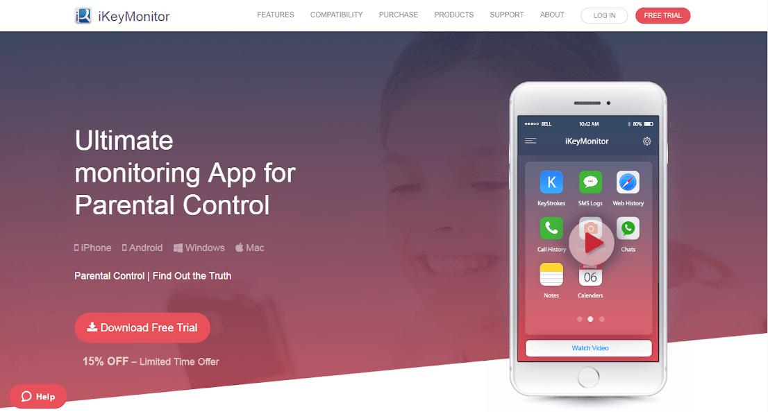 iKeyMonitor Keylogger for iPhone