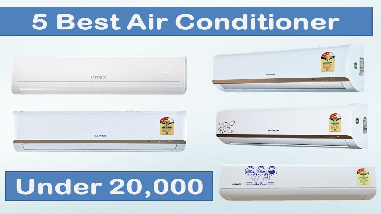 Top 5 Best Air Conditioners Price in India