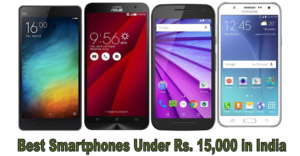 Amazon Mobile Deals–7 best mobiles under 15000