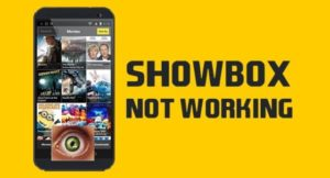Learn How to Fix, If Showbox App is not Working on your Device?