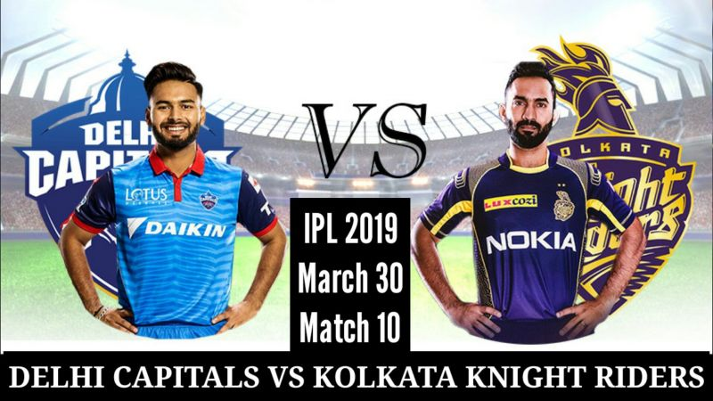 Delhi Capitals vs Kolkata Knight Riders, 10th Match