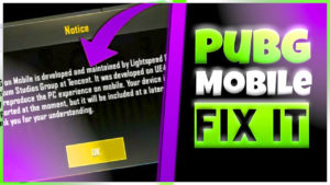 [FIX!] Device Not Supported 100% Working Solution! [PUBG Mobile]