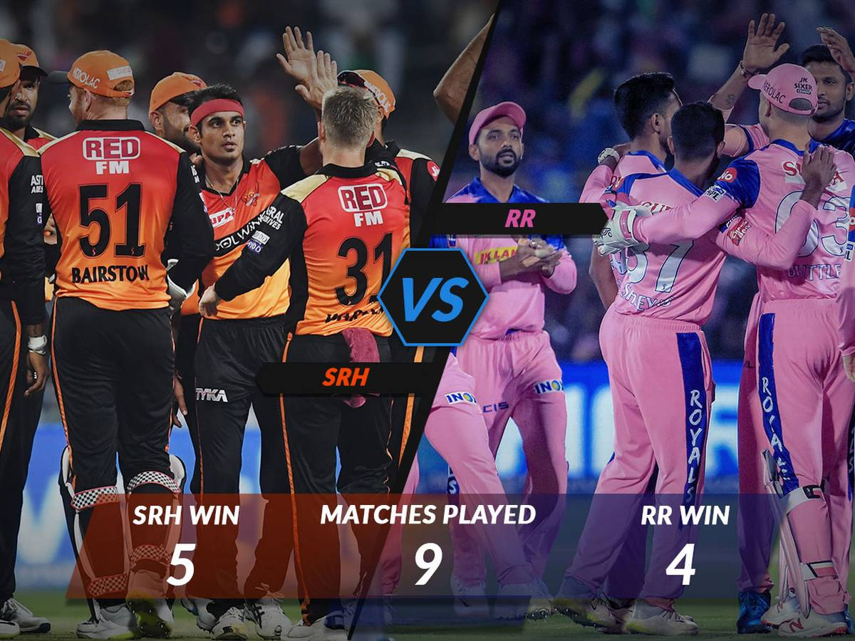 SRH vs RR Predicted Playing 11, Live Stream & Score Updates Info
