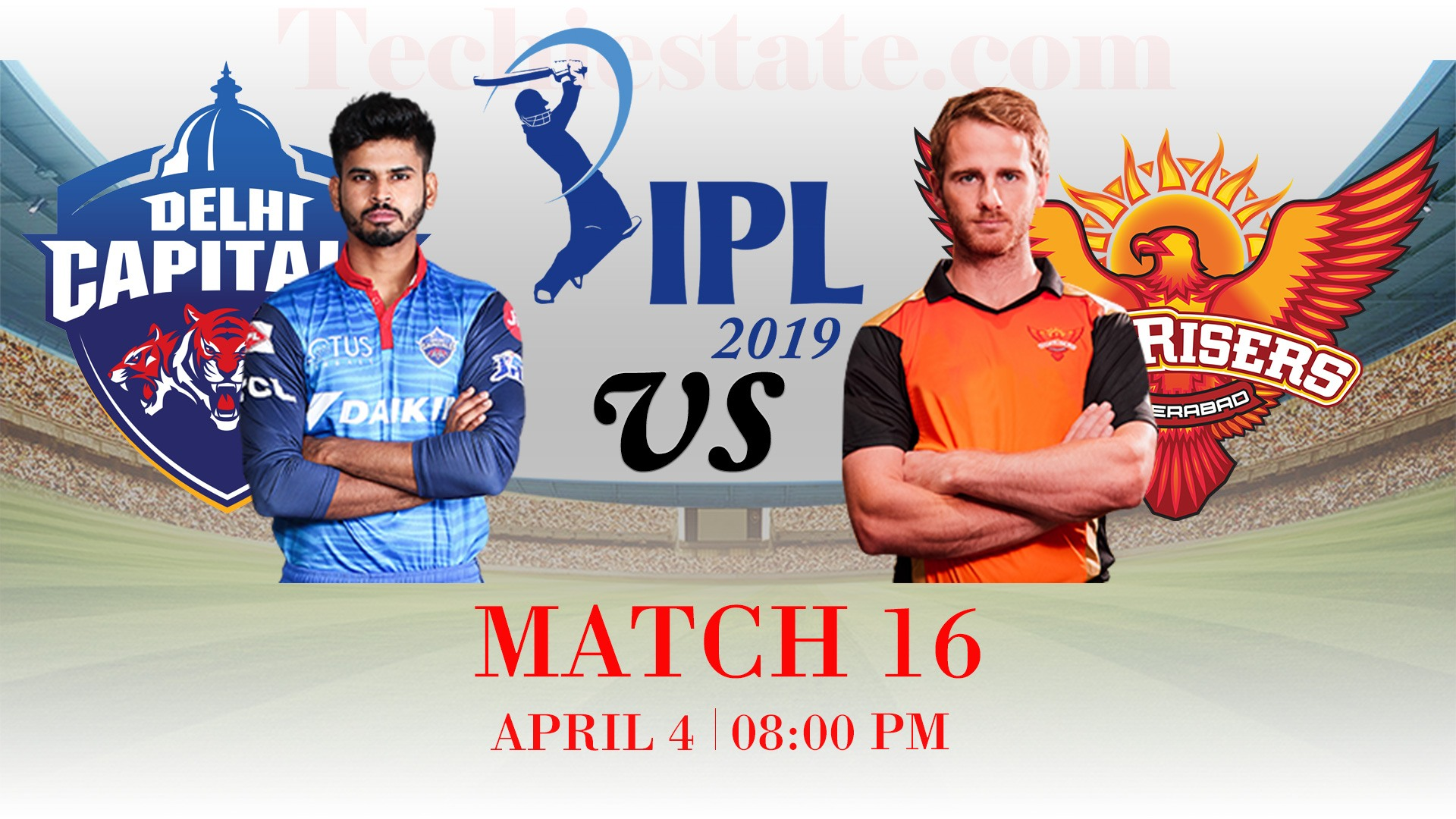 Delhi Capitals vs Sunrisers Hyderabad, 16th Match