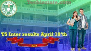 www.results.cgg.gov.in : TS Intermediate 1st & 2nd Year Results 2019