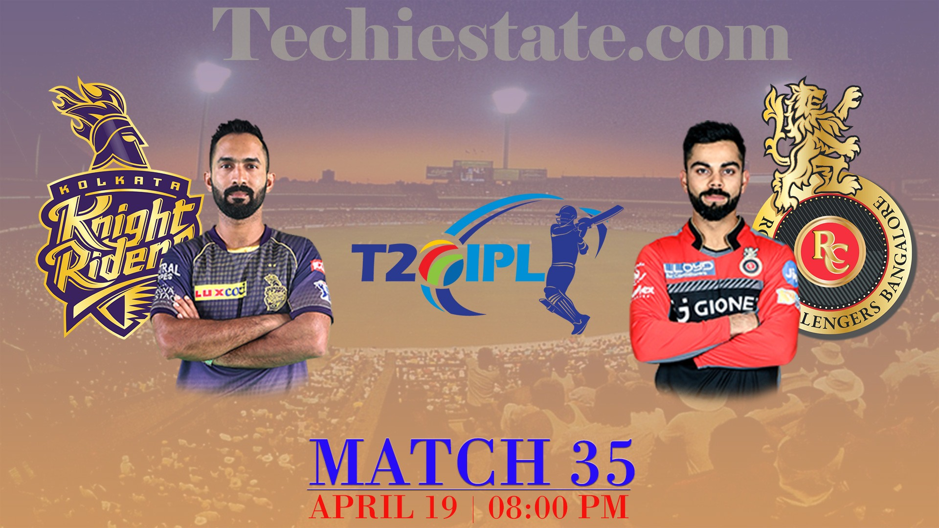 KKR Vs RCB Match Prediction, Live Streaming Score Updates