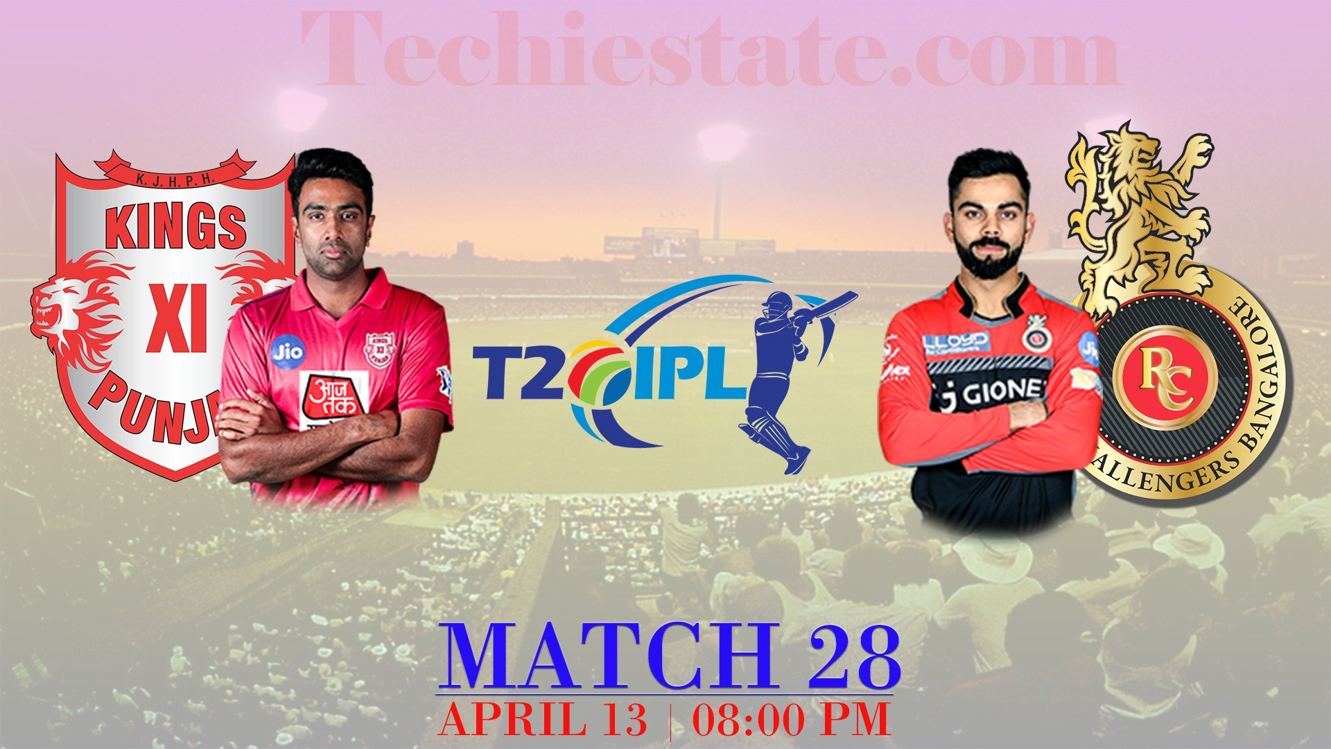 KXIP Vs RCB Match Predicted Playing, Live Streaming Updates