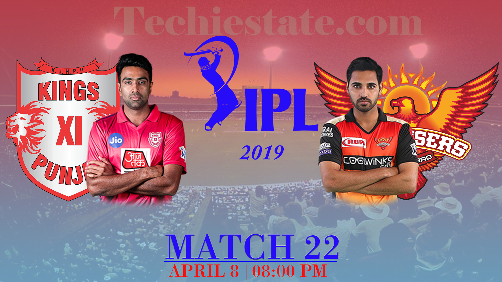 KXIP Vs SRH Match 22nd