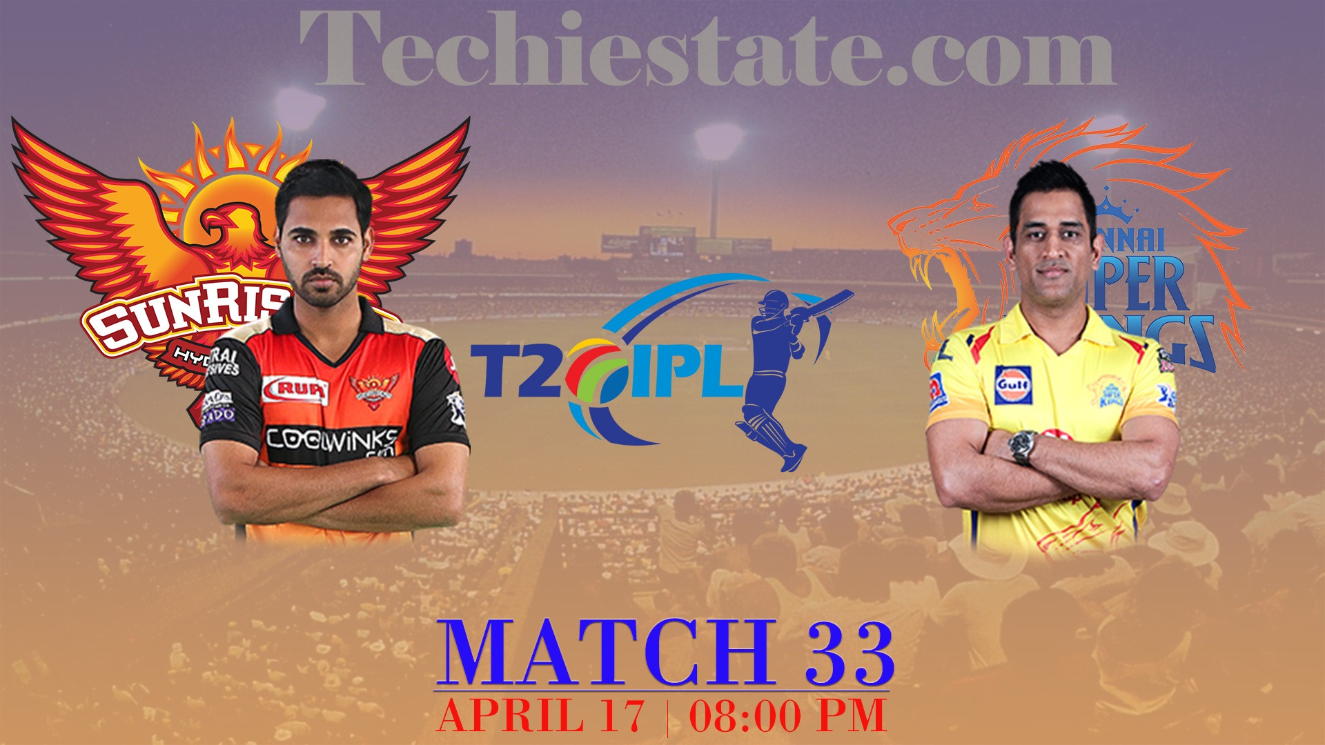SRH Vs CSK Match Prediction, Live Streaming Cricket Scores