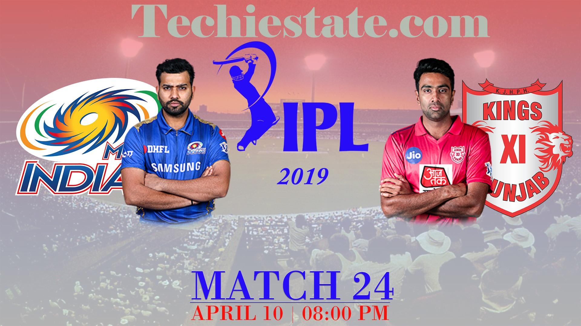mi-vs-kxip IPL