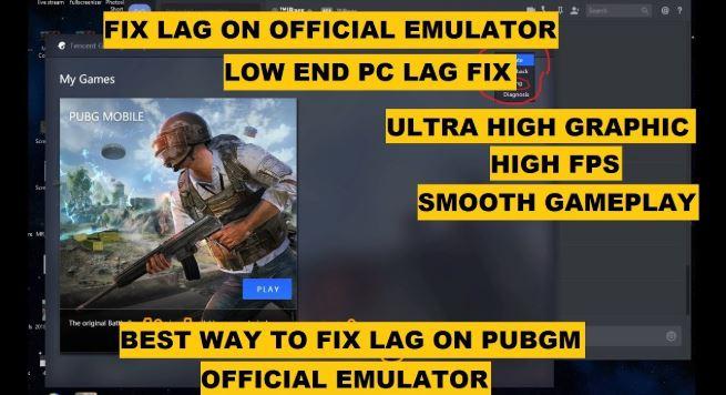 [FIX!] PUBG Emulator Lag Problem
