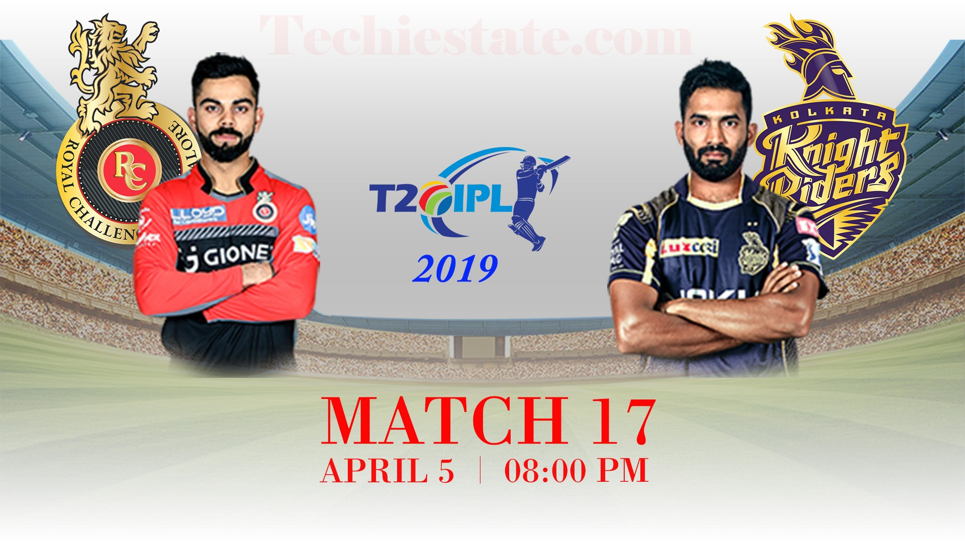 RCB Vs KKR 17th Match Prediction, Live Updates, Cricket Scores