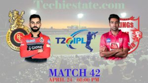 RCB vs KXIP 42nd Match Prediction, Live Streaming Updates