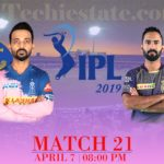 RR Vs KKR Match Prediction, Live Cricket Score Updates